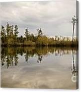 Perfect Lake Canvas Print