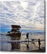 Peter Iredale Shipwreck, Fort Stevens Canvas Print