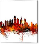 Philadelphia Pennsylvania Skyline 1 Canvas Print