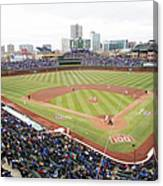 Philadelphia Phillies V Chicago Cubs Canvas Print