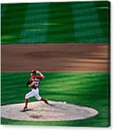 Philadelphia Phillies V Washington 1 Canvas Print