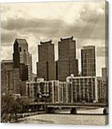 Philadelphia Skyline 1 Canvas Print