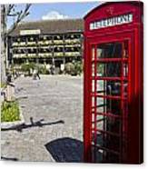 Phone Box London Canvas Print