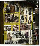 Photos Mexican Revolution Street Photographer's Shed Nogales Sonora Mexico 2003 Canvas Print