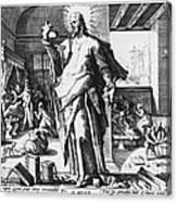 Physician As God Canvas Print