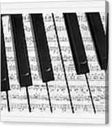 Pianoforte Canvas Print