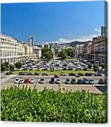 Piazza Della Vittoria - Genova Canvas Print