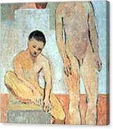 Picasso's Two Youths Canvas Print