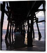 Pier In The Pacific Ocean, San Clemente Canvas Print