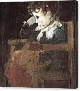 Pinazo Camarlench, Ignacio 1849-1916 Canvas Print