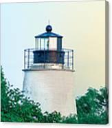 Piney Point Maryland Lighthouse Canvas Print