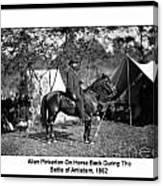 Pinkerton Man Canvas Print