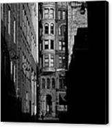Pioneer Square Alleyway Canvas Print