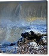 Pipe Creek Falls Canvas Print