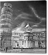 Pisa - The Leaning Tower Canvas Print