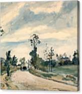 Pissarro Louveciennes Canvas Print