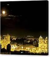 Plaza De Armas Cuzco Peru Canvas Print