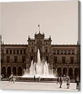 Plaza De Espana Canvas Print