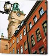 1 Pm In Stockholm Canvas Print