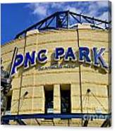 Pnc Park Baseball Stadium Pittsburgh Pennsylvania Canvas Print