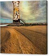 Point Of Ayre Lighthouse Canvas Print