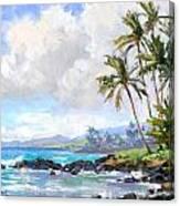 Poipu Beach #1 Canvas Print