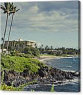 Polo Beach Wailea Point Maui Hawaii Canvas Print