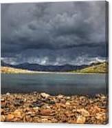 Pomeroy Lake Canvas Print