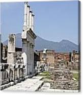 Pompeii Canvas Print