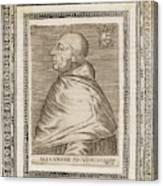 Pope Alexander Vi (roderigo Borgia) Canvas Print
