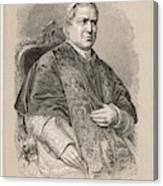 Pope Pius Ix (conde Giovanni Maria Canvas Print