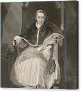 Pope Pius Vii (luigi Barnabo Canvas Print
