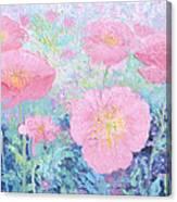 Poppy Garden Canvas Print