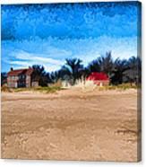 Port Huron Light House Canvas Print
