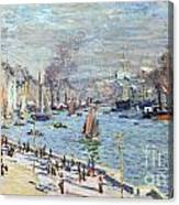 Port Of Le Havre Canvas Print
