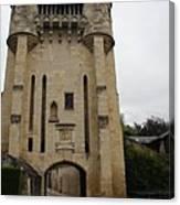 Porte Du Croux Nevers  Canvas Print