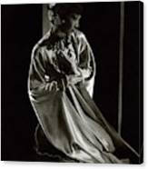 Portrait Of Anna May Wong Canvas Print