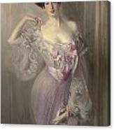 Portrait Of Ena Wertheimer Canvas Print