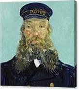 Portrait Of Postman Roulin Canvas Print