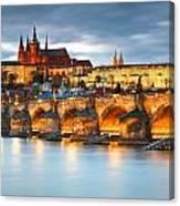 Prague Castle. Canvas Print