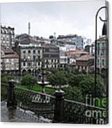 Praza Da Ferreria In Pontevedra Canvas Print