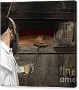 Preparing Matzah Israel Canvas Print
