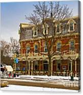 Prince Of Wales Hotel In Niagara On The Lake Canvas Print