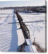 Prince Of Wales Railway Bridge, Ottawa Canvas Print