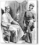 Prince Otto Von Bismarck (1815-1898) Canvas Print