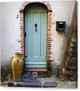 Provence Door Number 2 Canvas Print