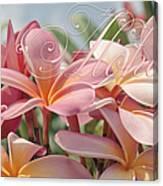 Pua Melia Ke Aloha Maui Canvas Print