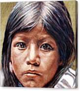 Pueblo Girl Canvas Print