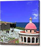 Puerto Rico, San Juan, Fort San Felipe Canvas Print