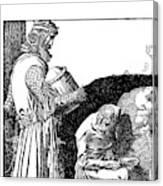 Pyle King Arthur Canvas Print